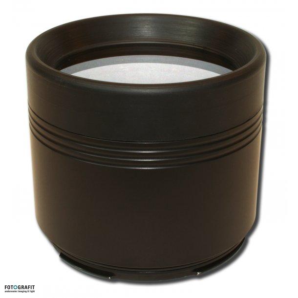 Flat port GLASS - L 70 / D 100