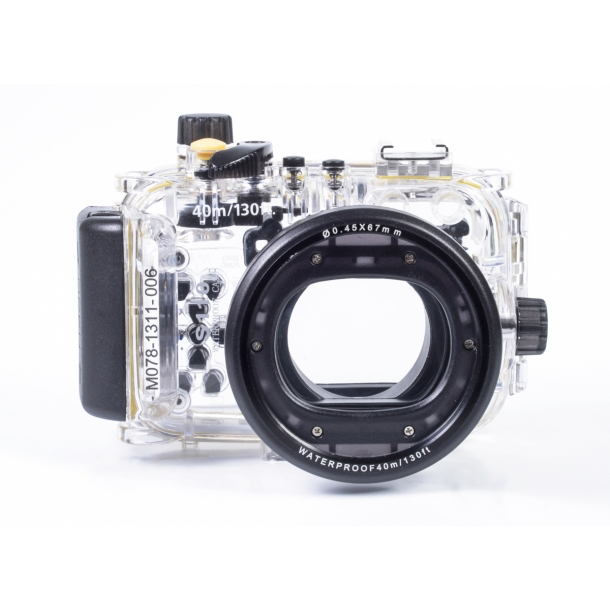... Products / UW CAMERA HOUSING / Canon / Meikon Housing for Canon S120