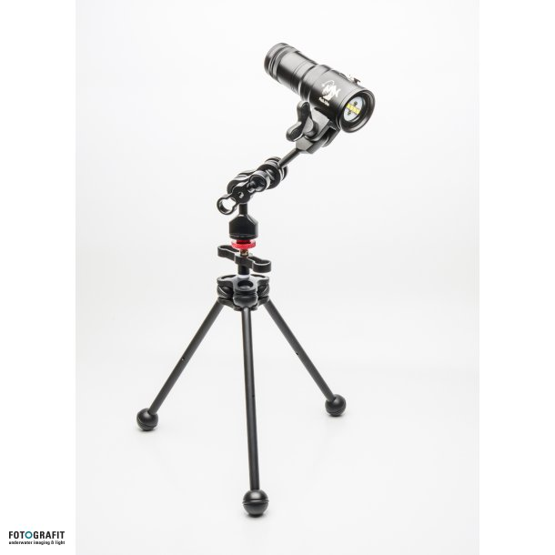 KIT with FG Tripod - Large and a double armball set with YS-mount
