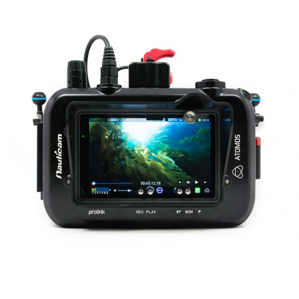 Nauticam Atomos Shogun housing for Atomos Shogun 10-bit 4K SDI / HDMI Recorder/Monitor/Player
