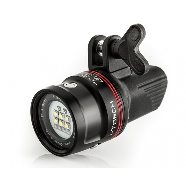 I-Torch Venom38 (3800 lumens) (white/red)