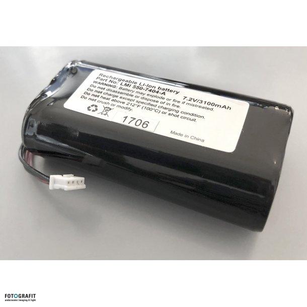 SOLA battery - 7,2 V - 3100 mAh